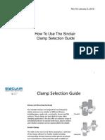 Sinclair ClampSelectionGuideInstructionalPresentation