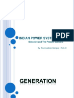 Indian Power System Structure and present  Scenario