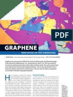 Graphene-new Physics in 2-d