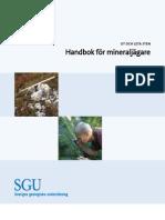 handbok för mineraljägare