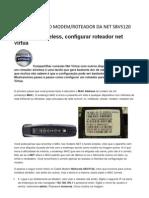 CONFIGURAÇÃO MODEM NET SBV5120