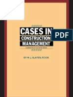 Cases in Construction Management