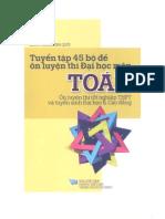 Tuyen Tap 45 Bo de on Tuyen Dai Hoc Mon Toan