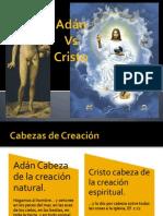 Adán y Cristo