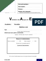 VAE - Livret 2
