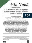 Revista nouă nr. 4 2012