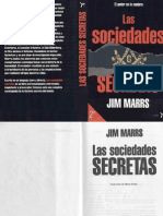 Jim Marrs - Las Sociedades Secretas