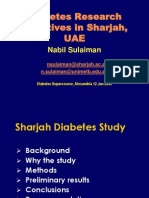 Diabetes in the UAE
