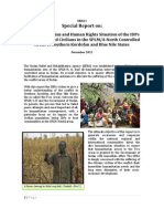 SRRA Special Report on the Humanitarian and Human Rights Situation in BN & SK States - Final
