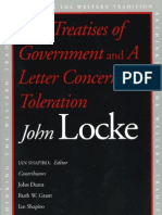 LOCKE Two Treatises of Government and a Letter Concerning Toleration