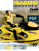1997 Seadoo GTX Shop Manual