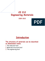 Construction Materials in civil engineering
