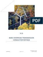 Bare Overhead Transmission Conductor Ratings
