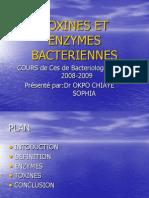 77657691 Toxines Et Enzymes Bacteriennes
