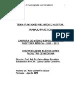 Tp- Salazar -Funciones Del Medico Auditor