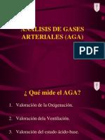 Analisis de Gases Arteriales Aga