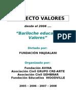 proyecto valores