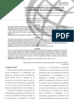 DEGEPO EN LA EDUCACIÓN GEOGRÁFICA DE ESTUDIANTES EN EDUCACIÓN, EN LA UNIVERSIDAD DE ANTIOQUIA, COLOMBIA