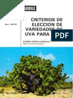 Criterios de Elección de Variedades de Uva para Vino