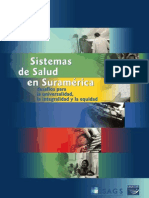Sistemas de Salud en Suramérica: desafíos para la universalidad, la integralidad y la equidad