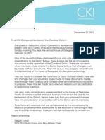 DCON Amendment Letter