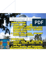 1 slaid power point Teknologi & Inovasi