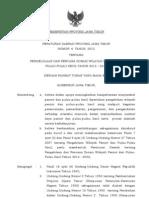 Peraturan Daerah Provinsi Jawa Timur Nomor 6 Tahun 2012 Tentang Pengelolaan Dan Rencana Zonasi Wilayah Pesisir Dan Pulau-Pulau Kecil Tahun 2012 – 2032