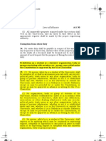 Section 15 of AUKU Before Amandment