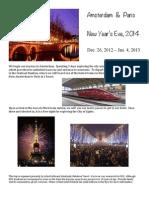 Amsterdam & Paris 2014