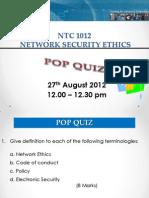 Quiz(Q)
