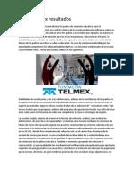 Becas Telmex Resultados