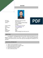 Azhar Resume Edit - BI