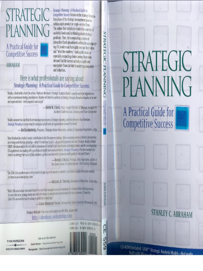 Strategic planning by abraham part 1 fandeluxe Gallery