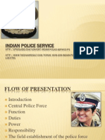 26 Indian Police Service Structure and Functioning