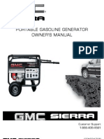 GMC Sierra 4800 Generator Owners Manual 11 09