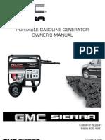GMC Sierra 4800 Generator Owners Manual 11 09
