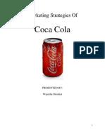 marketting strategies of coca cola