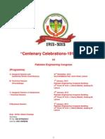 Centenary Celebrations Programme