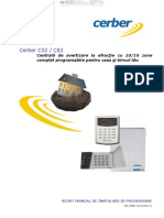 CERBER C52 Si C82 Manual de Instalare
