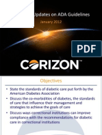 A-1D Diabetes an Update on American Diabetes Association Guidelines