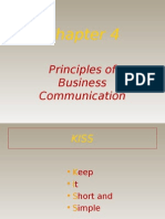 Principals of Business Communication