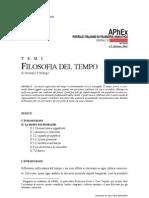 Filosofia Del Tempo Di Giuliano Torrengo
