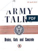 Army Talks 1944 - Brains Guts & Concrete