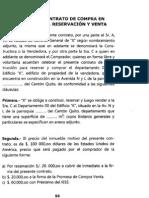 CONTRATO DE COMPRA EN CONSTRUCCION RESERVACION Y VENTA