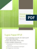 Tugas Paper RPJR 2012