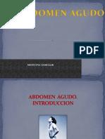 rx abdomen agudo
