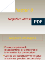 Negative Messages