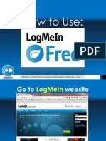 Francis_Baraoidan_How to Use LogMeIn