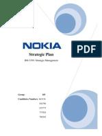 Strategic Business Plan of Nokia This Strategic Report Examines Thoroughly
