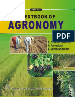 Text Book Of Agronomy